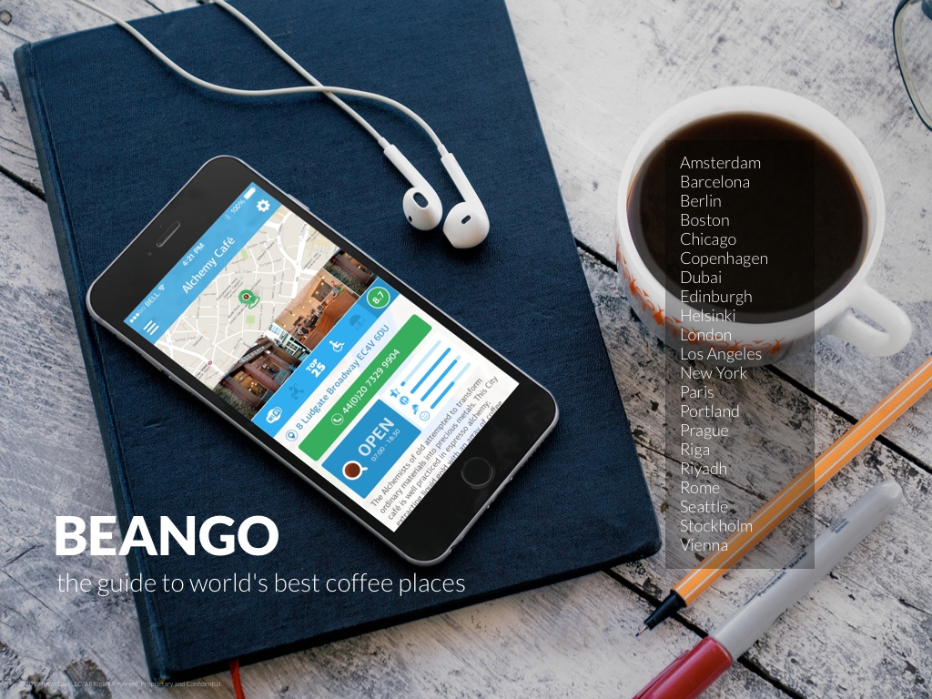 BeanGo – the guide to world's best coffee places