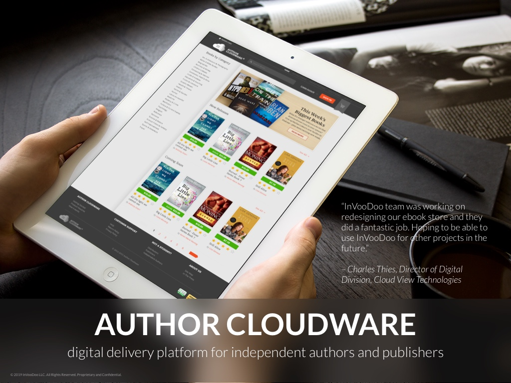 Author Cloudware – digital delivery platform for independent authors and publishers