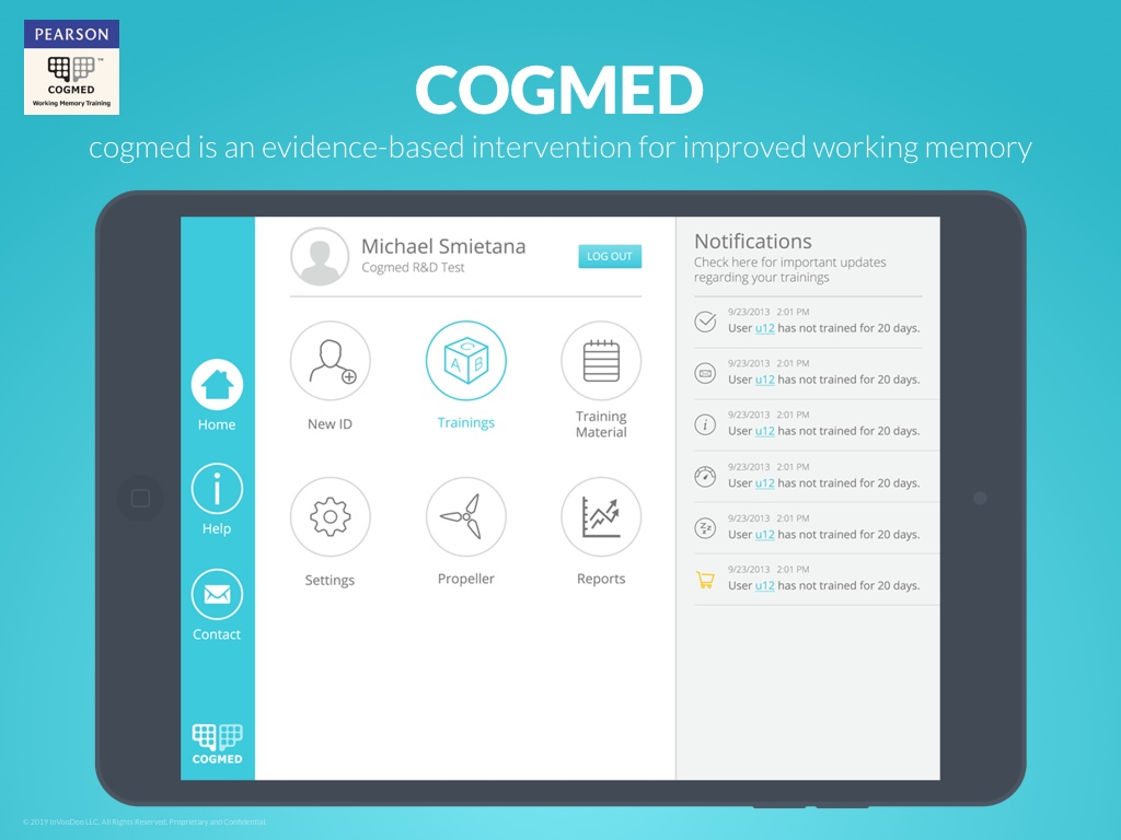 Cogmed – cogmed is an evidence-based intervention for improved working memory