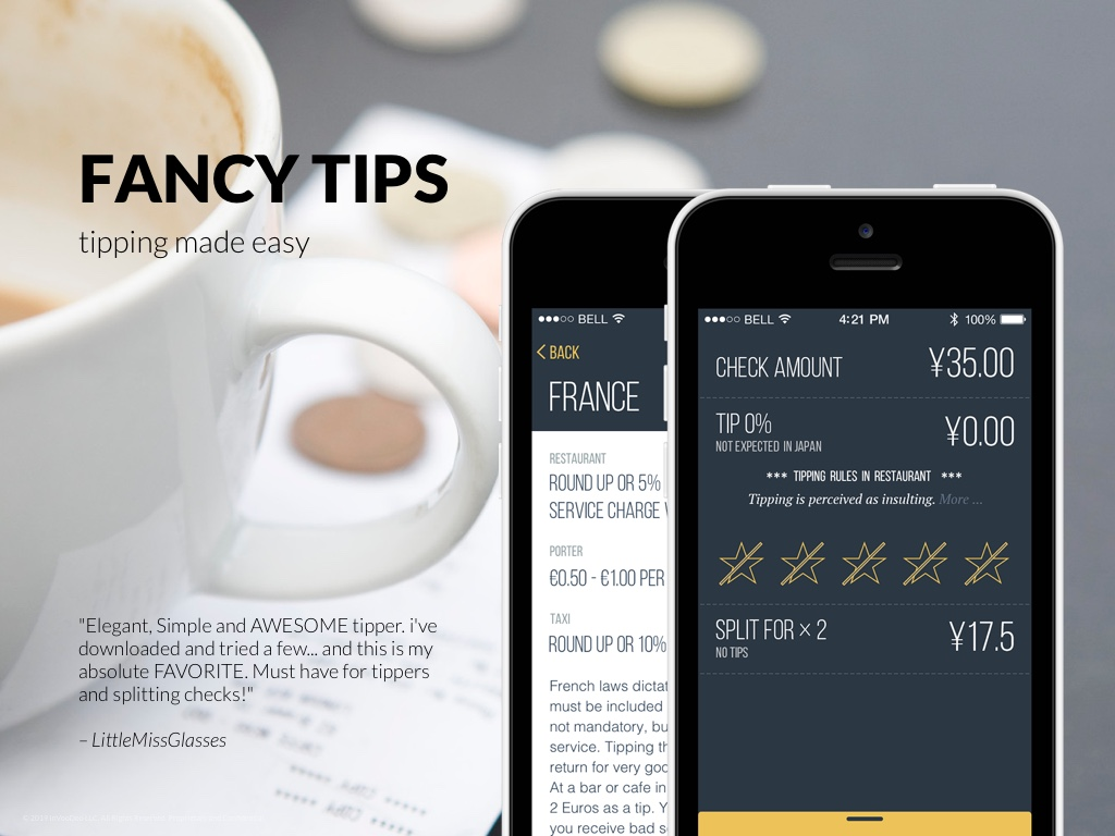 FancyTips – tipping made easy