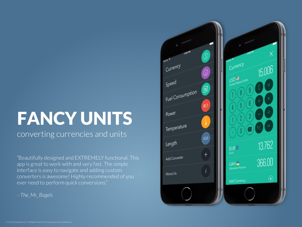 FancyUnits – converting currencies and units