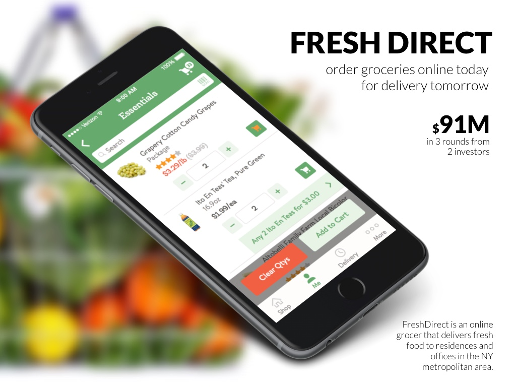 Fresh Direct – order groceries online today for delivery tomorrow