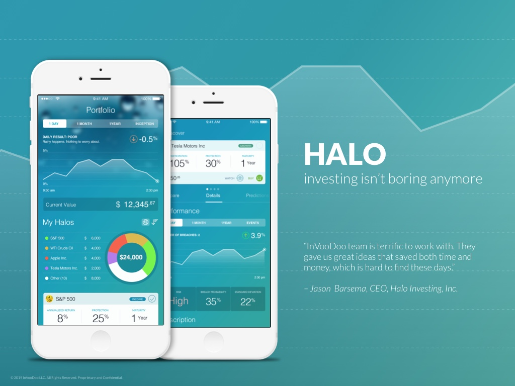 Halo – investing isn't boring anymore