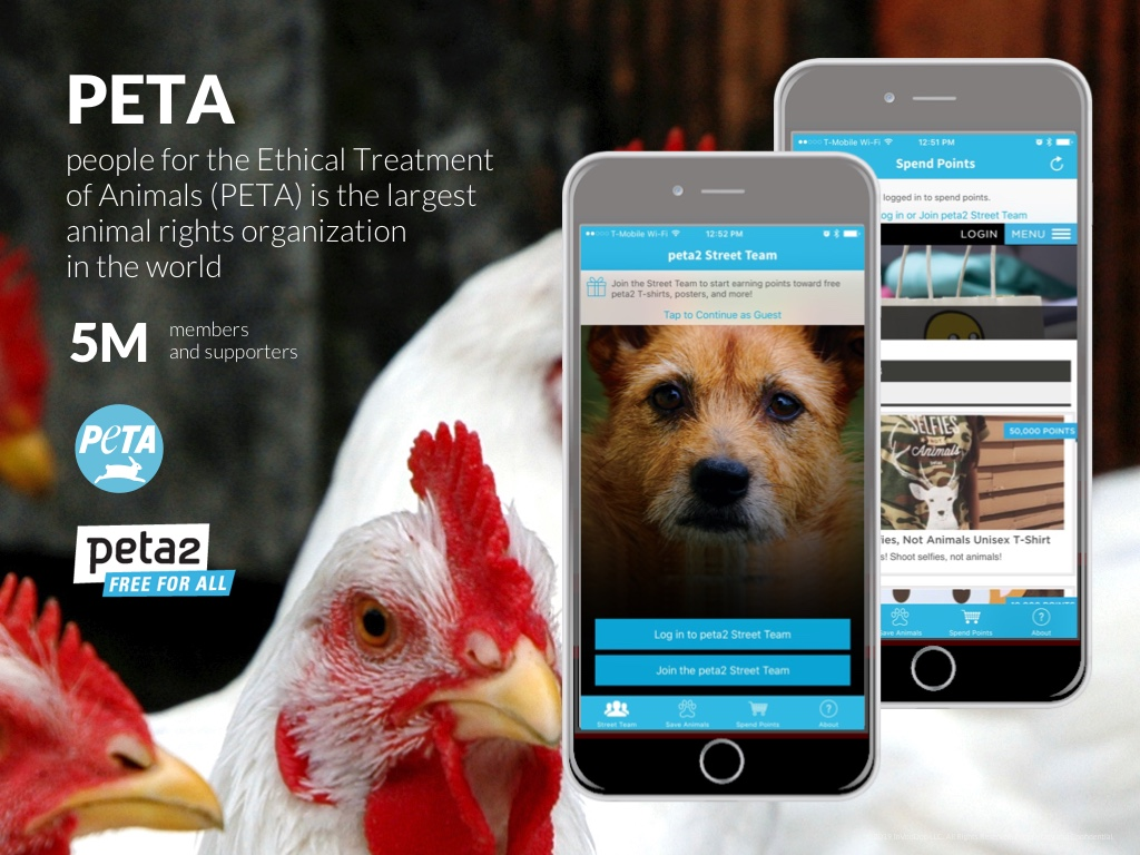 PETA – people for the Ethical Treatment of Animals (PETA) is the largest animal rights organization in the world