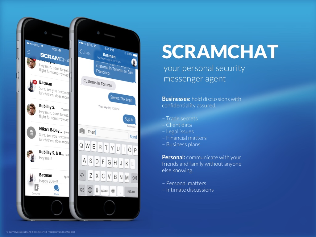 ScramChat – your personal security messenger agent