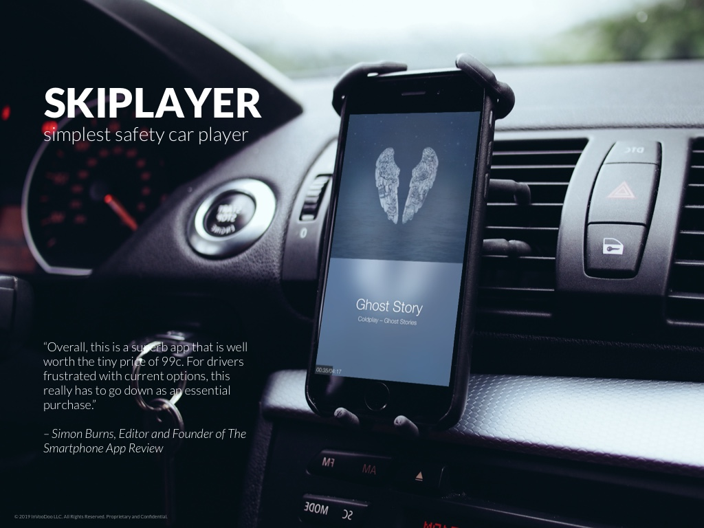 Skiplayer – simplest safety car player