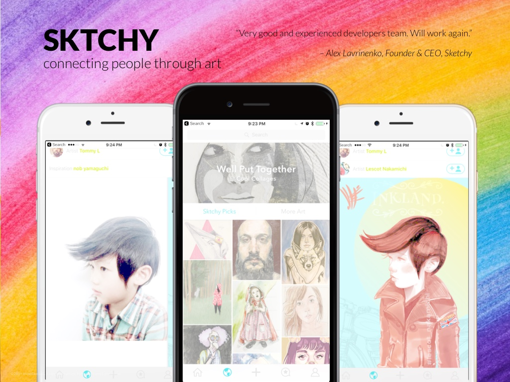 Sktchy – connecting people through art!